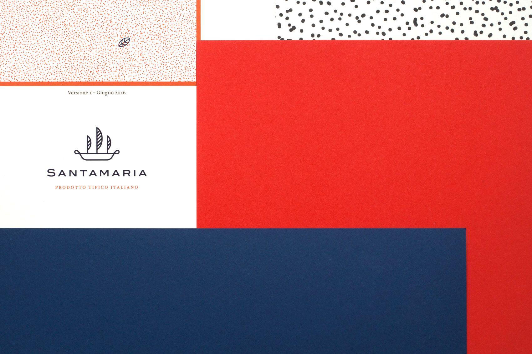 Andrea Dell Anna Santamaria Product branding