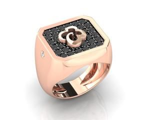 075ea44bc Ring for Her 'Kukkadas Shadow Corsage ' Silver Plated in Rose Gold  #luxurylifestyle #highendjewelry #designerjewelry #jewelry #highfashion  #fashiontrends