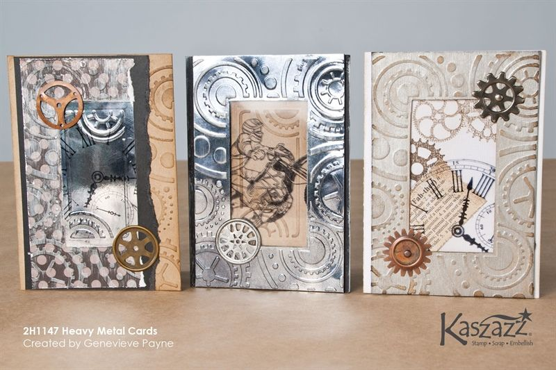 2H1147 Heavy Metal Cards