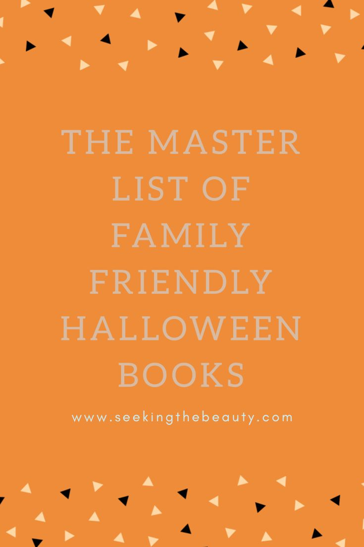 Fall and Halloween are a great time to rekindle your family's love of  reading. Here are some great books to read together, wh… | Jesus Loving  Creatives ...