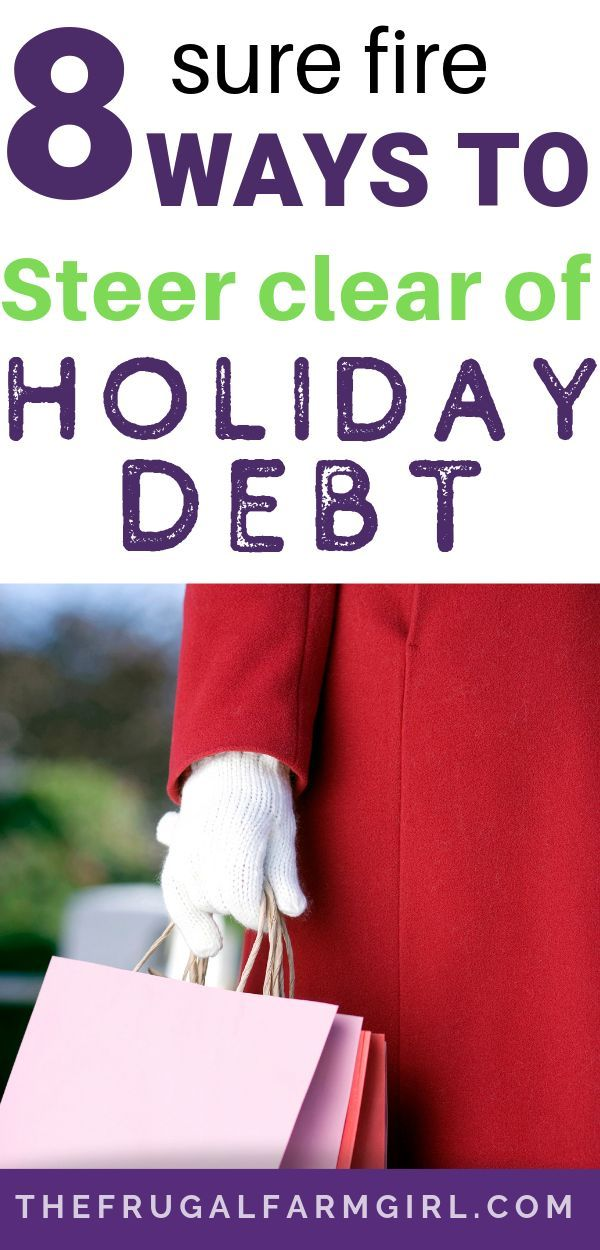 How to Avoid Debt This Holiday Season I needed to read this Before the crazy holiday spending Now I can apply tips before I get so stressed out I buy and commit to whatev...