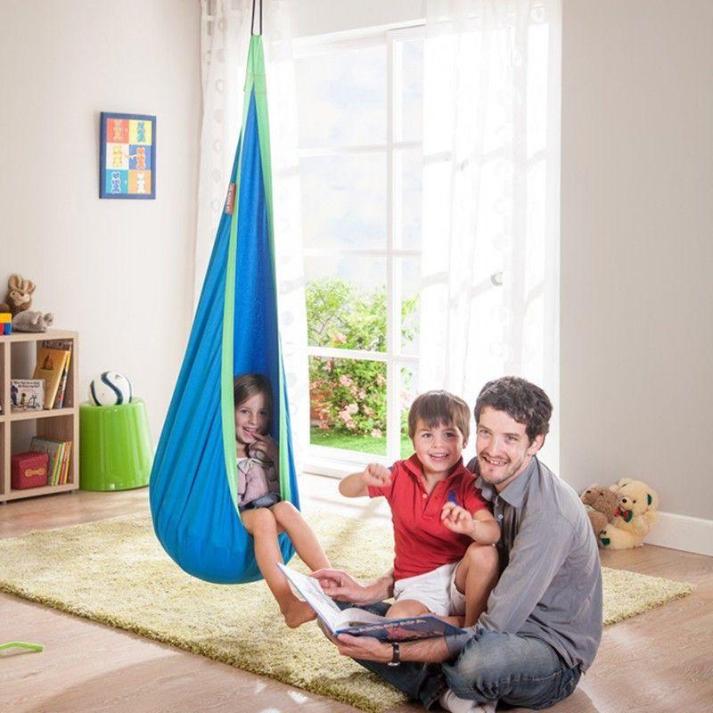 Buy Baby Swing Children Hammock Chair Kids Swing Chair Indoor Outdoor  Hanging Chair Child Swing Seat At Wish   Shopping Made Fun
