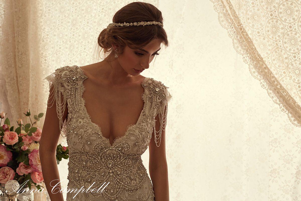 Anna campbell 39 sierra 39 dress for Robes de mariage anna campbell
