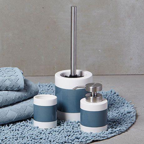 Clean A Bathroom Set bathroom set  blue mette ditmer designed in denmark monoqi