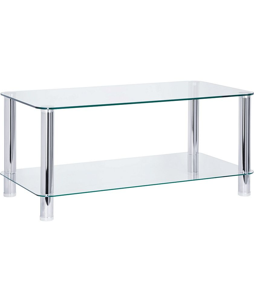 Buy Argos Home Matrix Coffee Table Clear Glass Coffee Tables