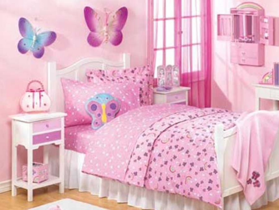 14+ Beautiful Girls Bedroom Ideas for Small Rooms (Teenage Bedroom