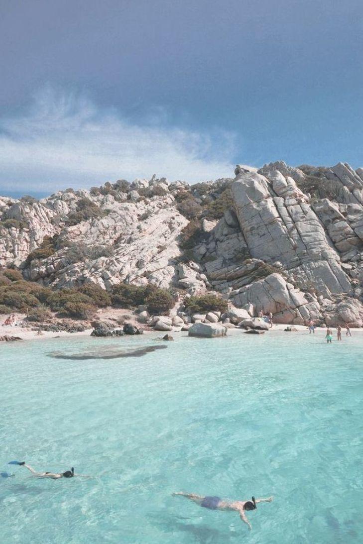 Tahiti beach, La Maddalena, Sardinia, Italy - best beaches ...