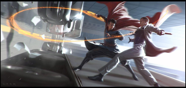 Doctor Strange Keyframe work, ryan lang on ArtStation at https://www.artstation.com/artwork/1leAG
