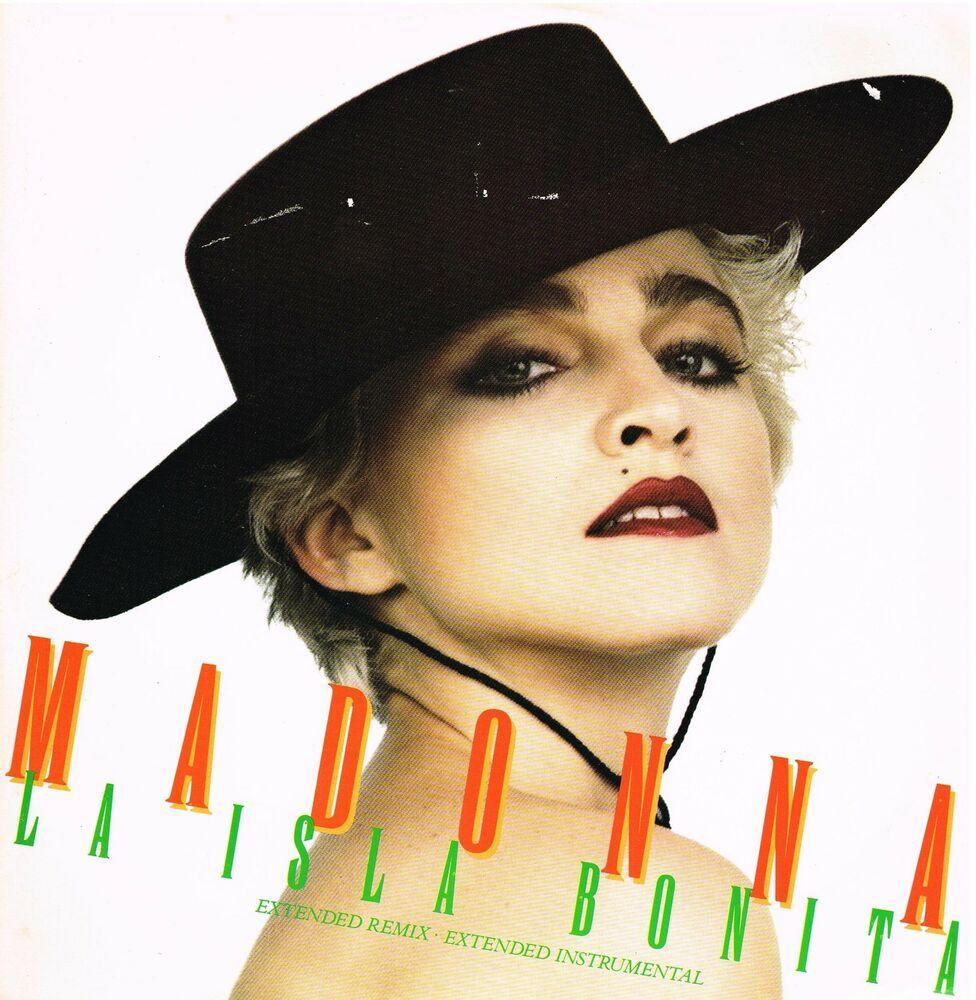 Madonna La Isla Bonita 2 Track 12 Extended Remix Single Madonna Bonita Remix