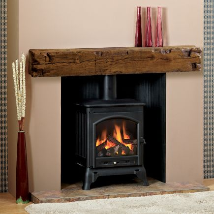 great beam aged oak medium finish focus fireplaces pinterest
