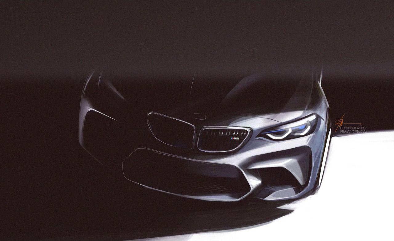 RVG DSGN - automotive-design:   BMW M2 Coupe Sketches (2015)