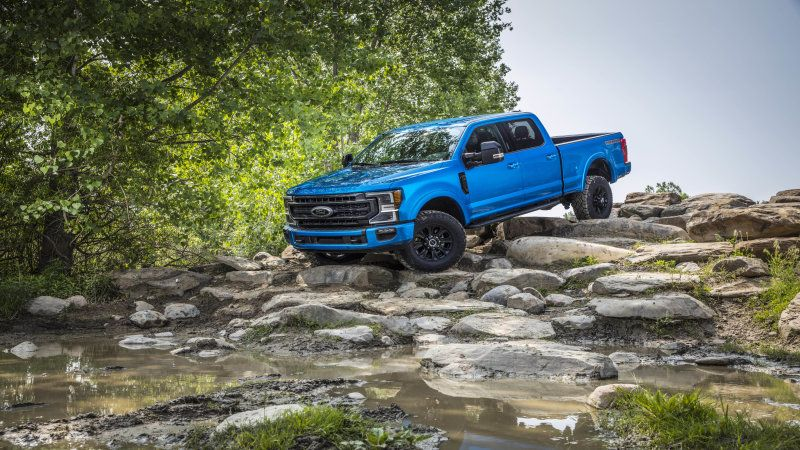 2020 Ford F Series Super Duty Gets A Tremor Offroad Package Ford