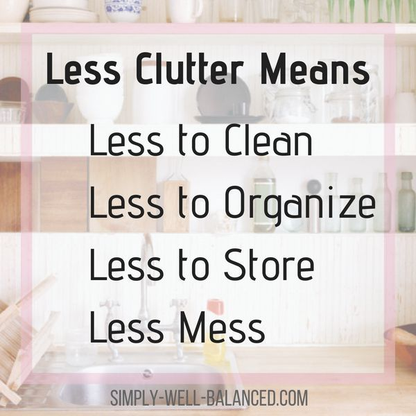 to Quickly Declutter your Home when you have No Time Decluttering quote for inspiration and motivation. Seeking minimalism and simplicity? A house full of clutter will cause you to feel overwhelmed and anxious - especially with kids. As a mom you can clear the clutter and stop having to clean the house all the time.Decl...
