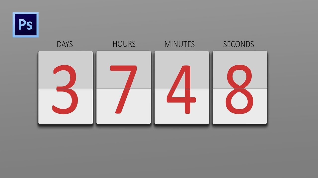 Create a countdown timer photoshop tutorials easy 100 youtube create a countdown timer photoshop tutorials easy 100 baditri Image collections