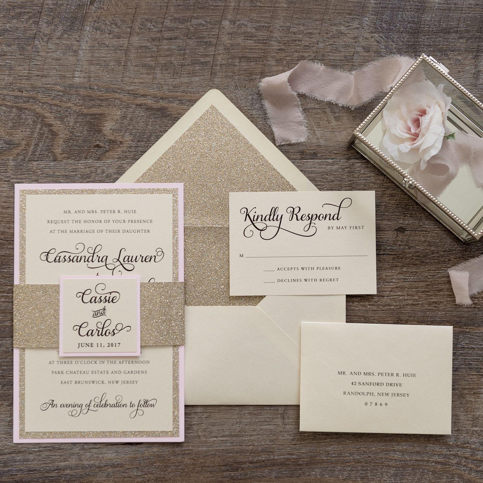 Cassie Wedding Invitation Weddings