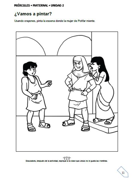 genesis 39 coloring pages - photo#11