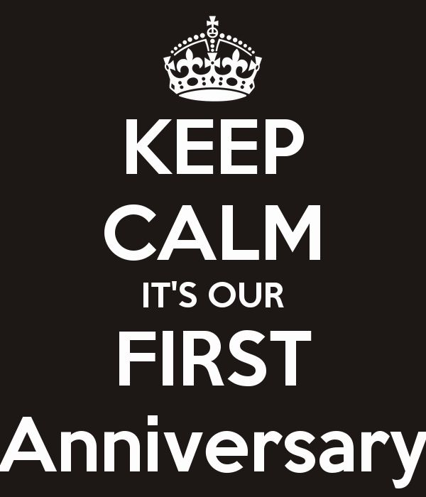 Our first wedding anniversary 365 days of wedded bliss e