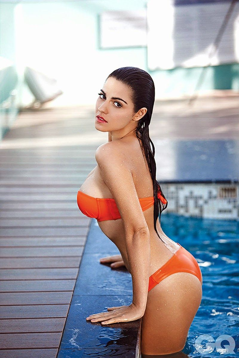 sexy girls — maite perroni in bikini. mexican beauty. | hot damn