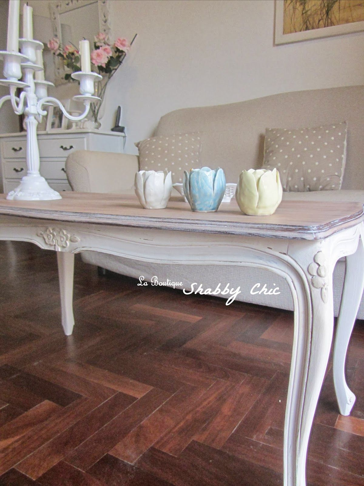 tavolino da caff¨ shabby chic coffe table restyling