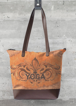 Tote Bag - Kay Duncan Yoga 2 002 by VIDA VIDA