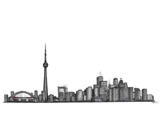 6b14b323bcd TORONTO skyline