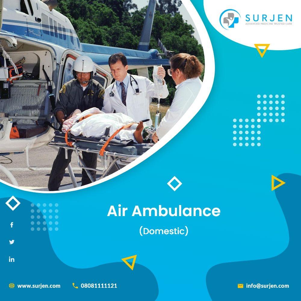 Air Ambulance Services in Nigeria Surjen Health Care