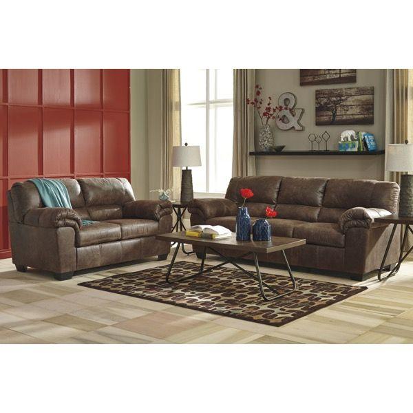 Incroyable Coffee Microfiber Living Room Set   Brianu0027s Furniture
