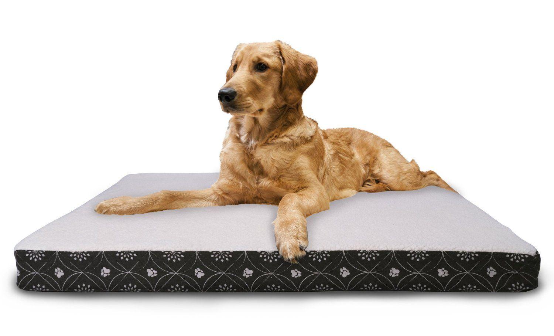 Furhaven Nap Pet Bed Memory Foam Top Orthopedic Mattress Deluxe