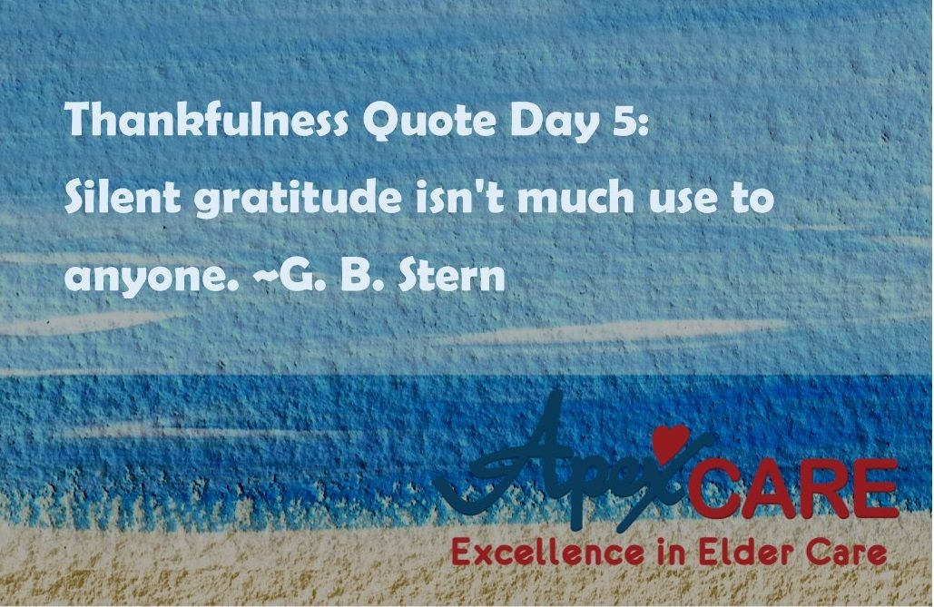 Thankfulness Quotes Thankfulness Quote Day 5 Silent Gratitude Isn't Much Use To Anyone .