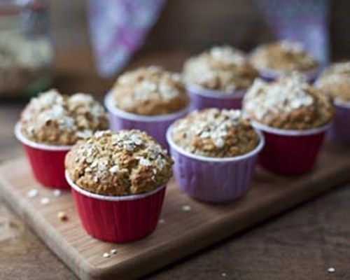 Banana Muffin And Oatmeal Muffins Recipe - Great for breakfast and brunch, a great filling way to start the day.