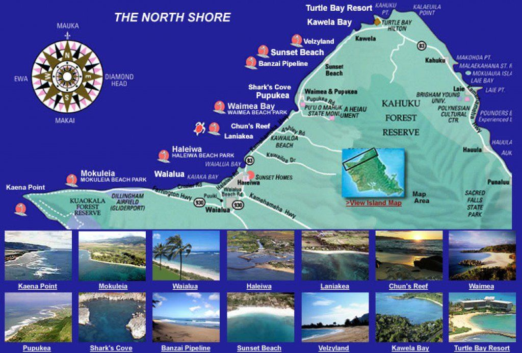 10 Must See Places on O ahu s North Shore Hawaii