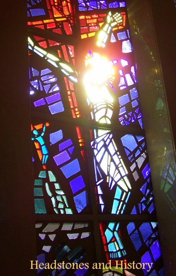 Resurrection Cemetery Mausoleum Justice Il Resurrection Cemetery Stained Glass Colored Glass