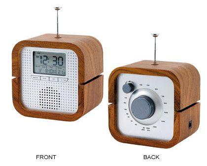 Pin De Patricia Hammons Em Gift Ideas, Retro Radio Alarm Clock