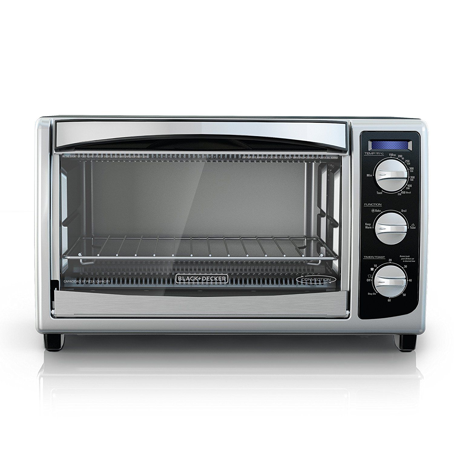 Black Decker To1675b 6 Slice Convection Countertop Toaster Oven