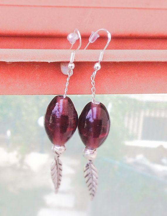 BOHO / GYPSY Stone  Earrings boho jewelry gypsy by Arielior, $15.00