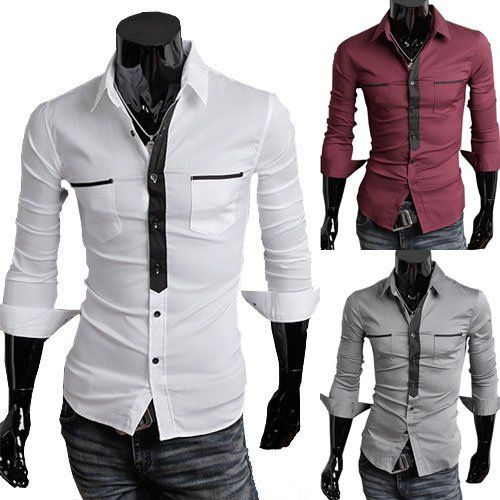 Men's Stylish Slim Fit Jackets Winter Casual Coats Winter Hoody ...