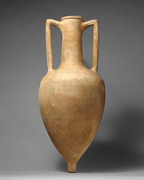 Terracotta transport amphora greek rhodian for Arredamento greco