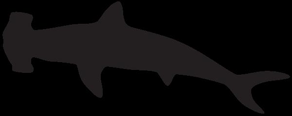 Hammerhead Shark Silhouette Png Clip Art Image Shark Silhouette Silhouette Png Shark