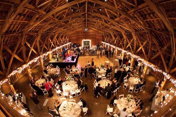 Pictures Of Muhlhauser Barn Wedding Receptions Point The Areas Where You Plan To Put Your Decorationeasure