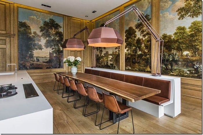 Modern Classic In Amsterdam Dining Room Design Private Dining