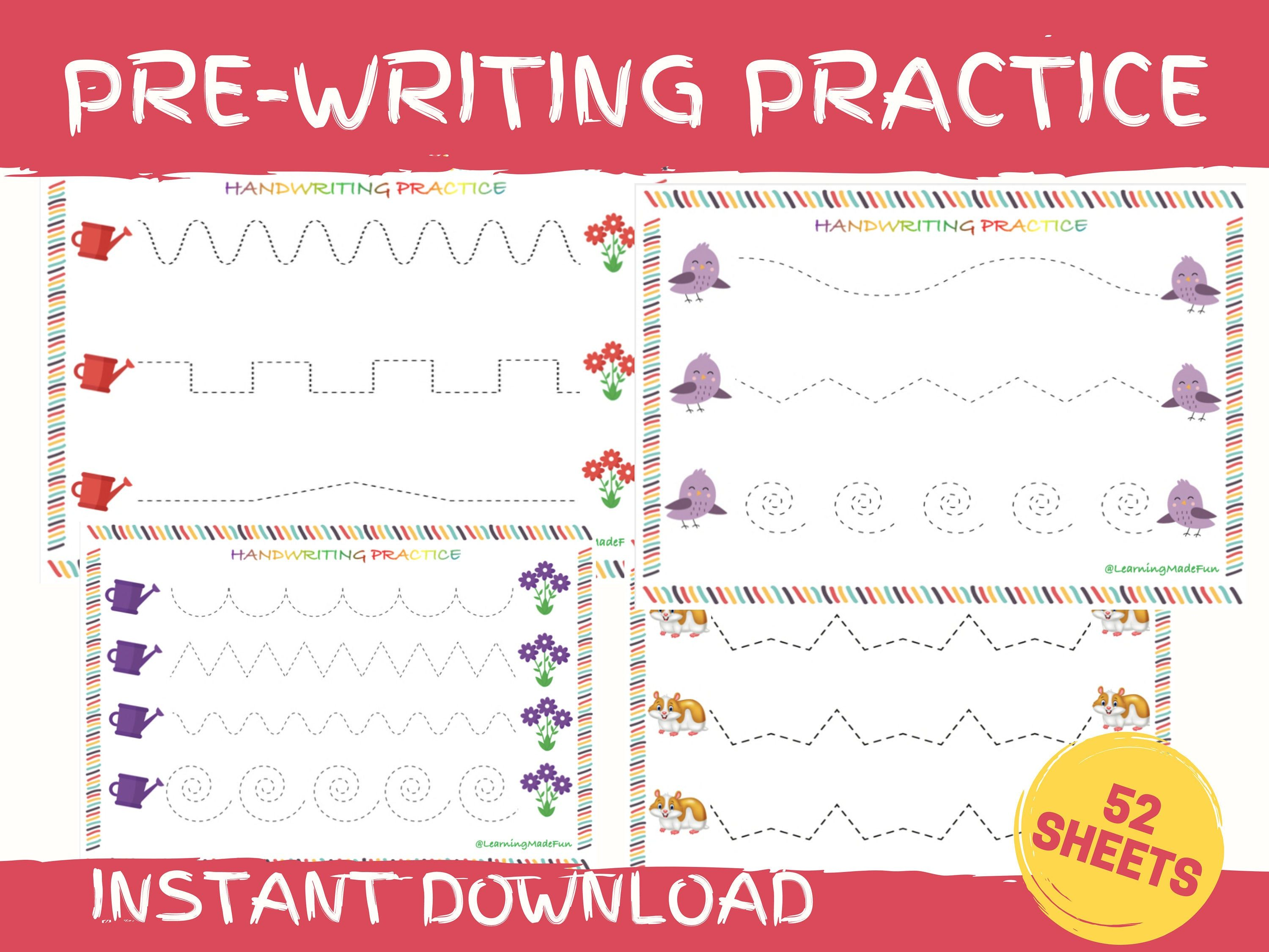 Tracing Practice Tracing Worksheets Preschool Worksheets