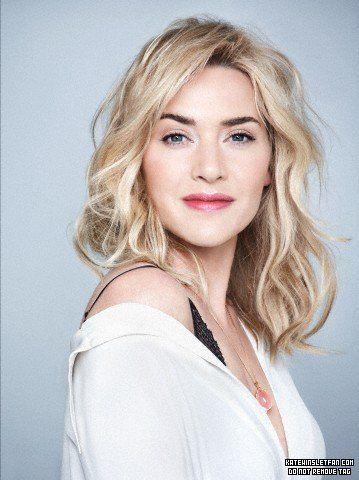 Kate Winslet Blonde Waves Blonde Hair Dark Eyebrows Blonde Hair