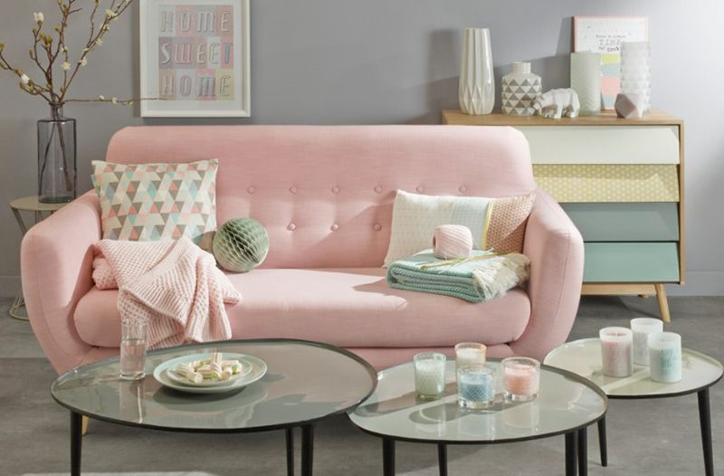 20 Ways to Use Pastel Colors in Scandinavian Living Rooms ...