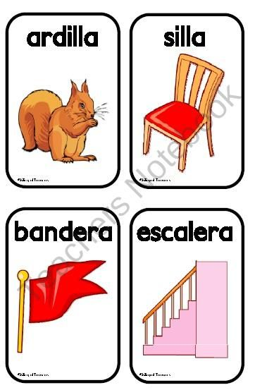 rhyming words in spanish kids activities learning spanish for kids teaching spanish y. Black Bedroom Furniture Sets. Home Design Ideas