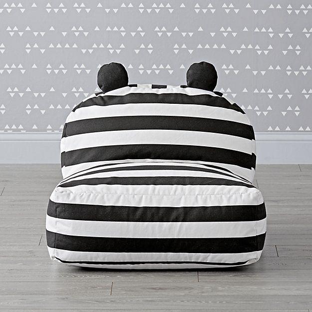Superb Striped Bear Bean Bag Chair Playrooms Bean Bag Chair Squirreltailoven Fun Painted Chair Ideas Images Squirreltailovenorg