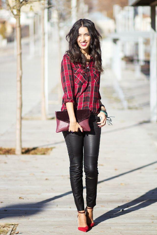 Sissy à la mode: The plaid blouse