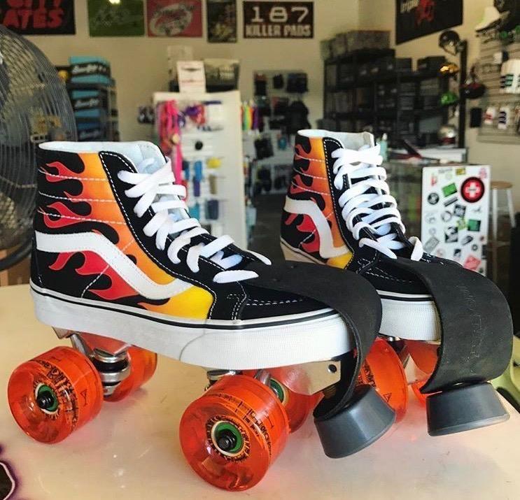 Custom shoe roller skates roller skate shoes roller