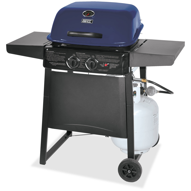 Walmart 2 Burner Lp Gas Grill Blue Walmart Com Propane Gas