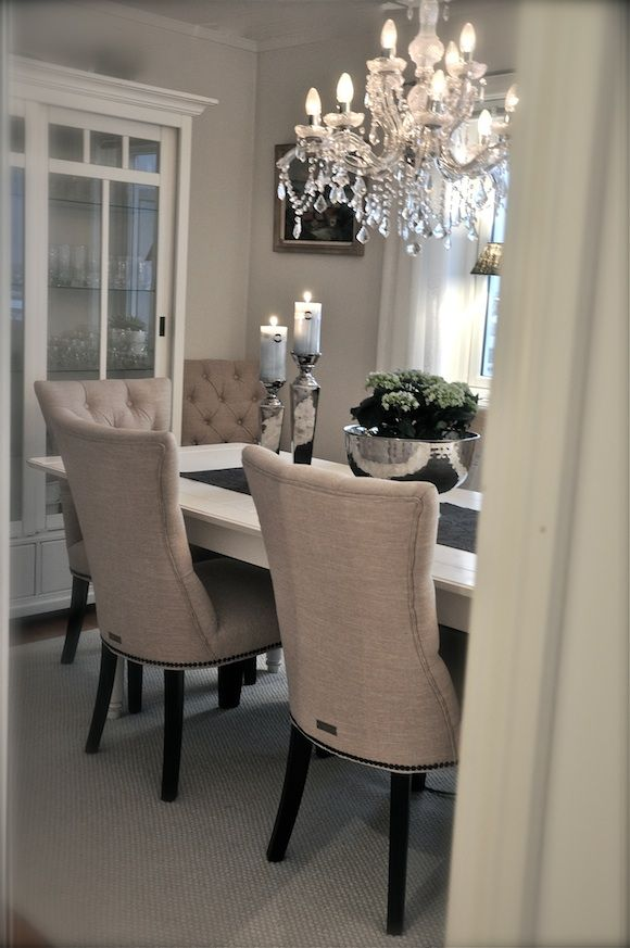 Dining room | DISEÑO DE COMEDORES | Sala da pranzo elegante ...