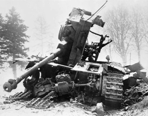 Image result for german tiger tank blown up